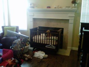 nursery, decor, d.i.y., baby, girl
