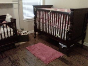 baby, girl, nursery, home, decor