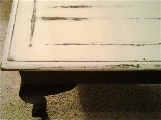 d.i.y., painted furniture, distressed furniture, coffee table, french country