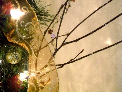 branches, tree, christmas, ornaments, decor,