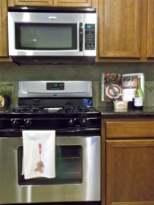 Christmas with Southern Living cookbook, kitchen decor, tea towel, holiday decor, Christmas