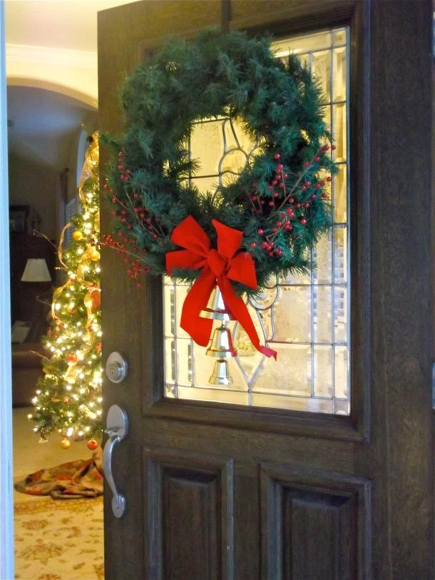 christmas decor, wreath, christmas tree, d.i.y.