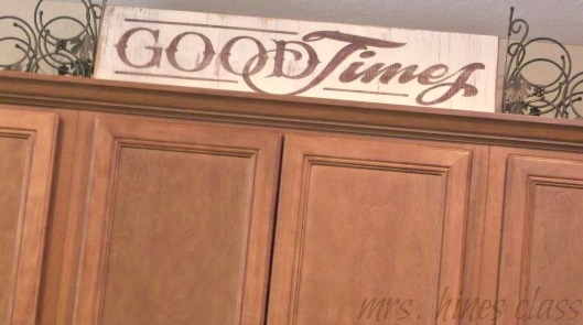 french country, decorative sign, home decor, d.i.y., home decor, kitchen cabinets
