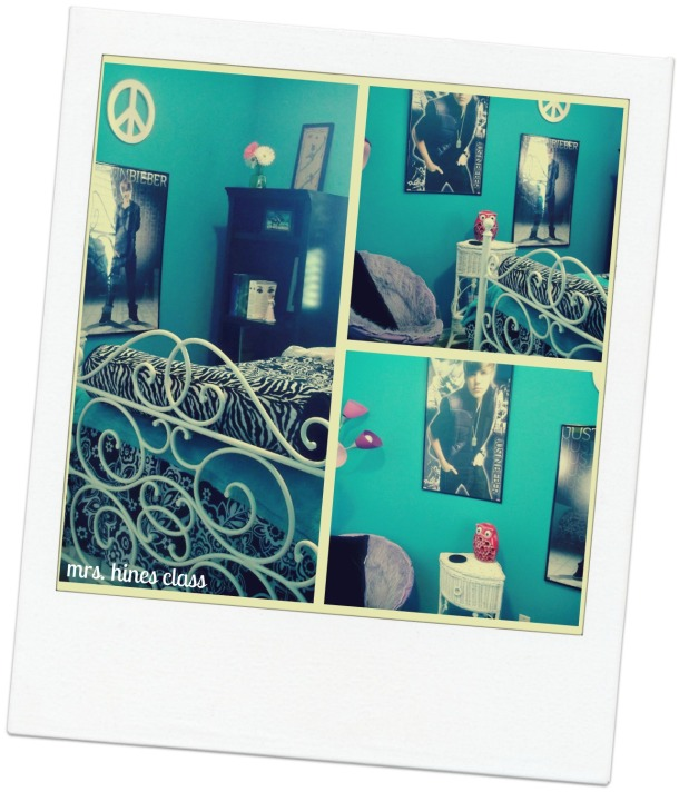 teen, decor, bedroom, paint, d.i.y. bedding