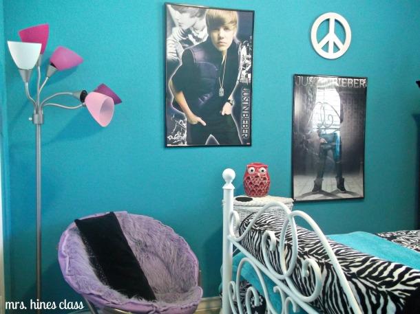 teen, room, bedroom, paint, decor, d.i.y.