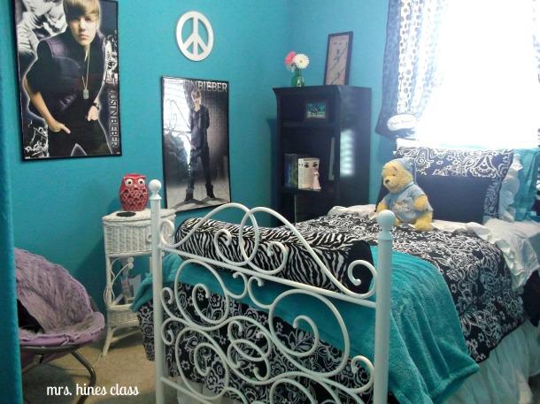 teen, room, bedroom, colors, paint, decor, d.i.y., bedding, accents