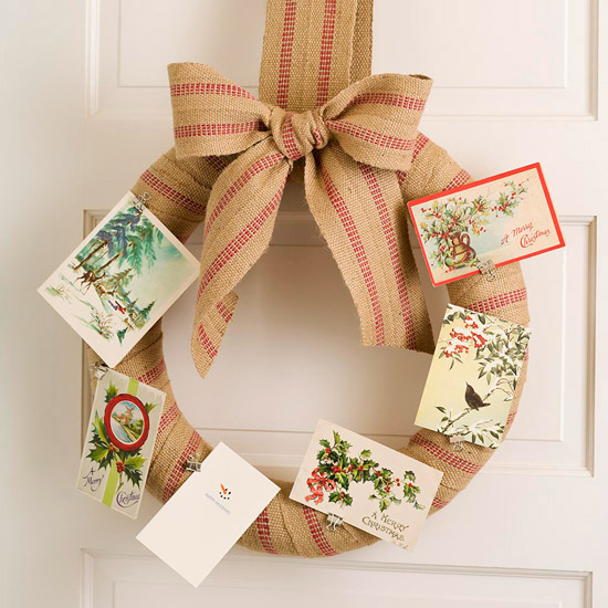 10 Creative Ways to Display Christmas Cards
