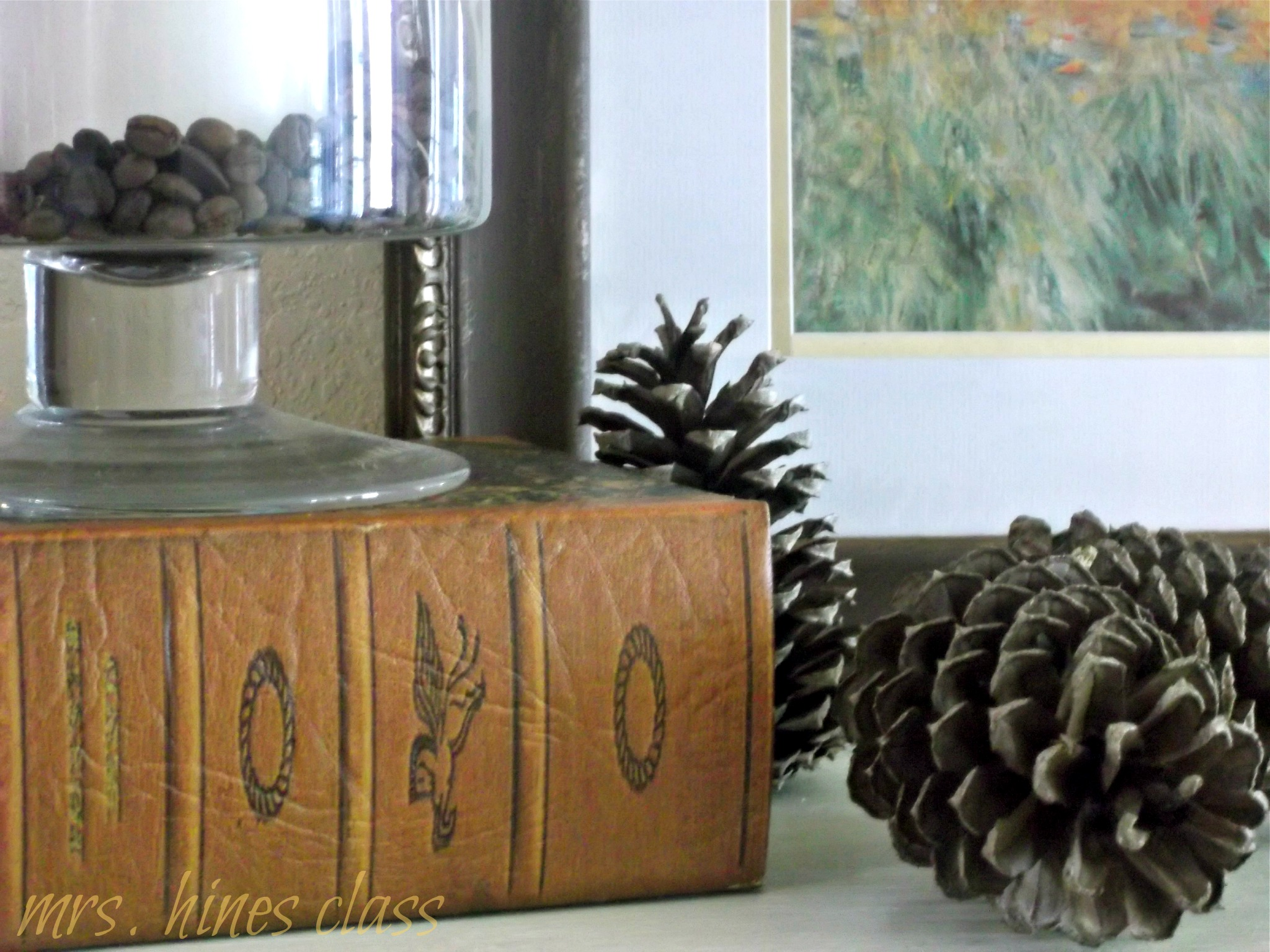Fall Home Decor Using Natural Elements