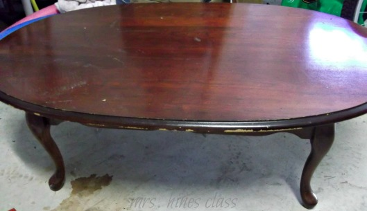 coffee table, painted furniture, refinishing furniture