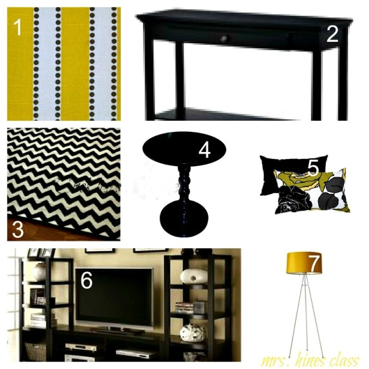 living room, home decor, yellow and gray, d.i.y.