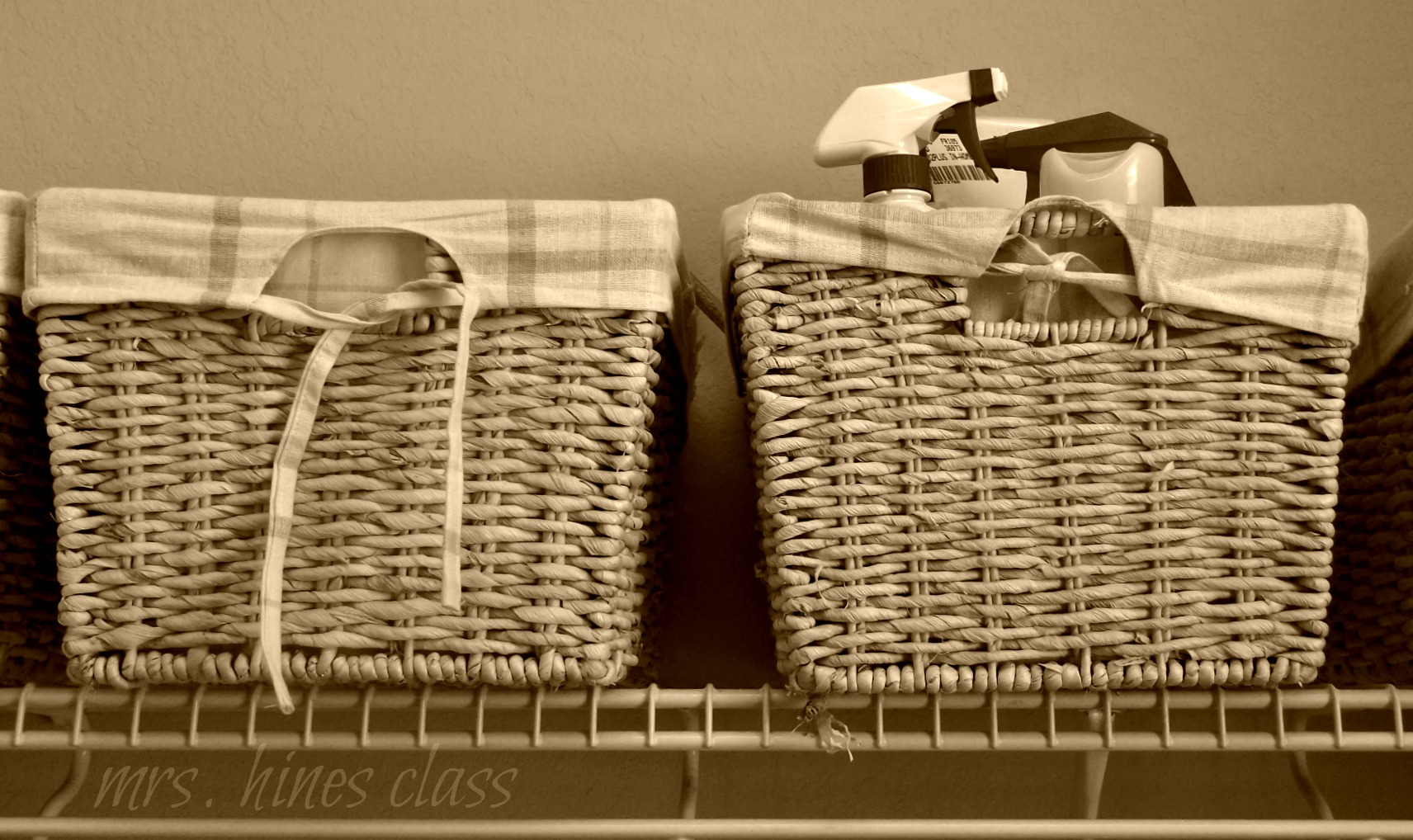 Find 8 Ways to Organize with Baskets at Mrs. Hines' Class