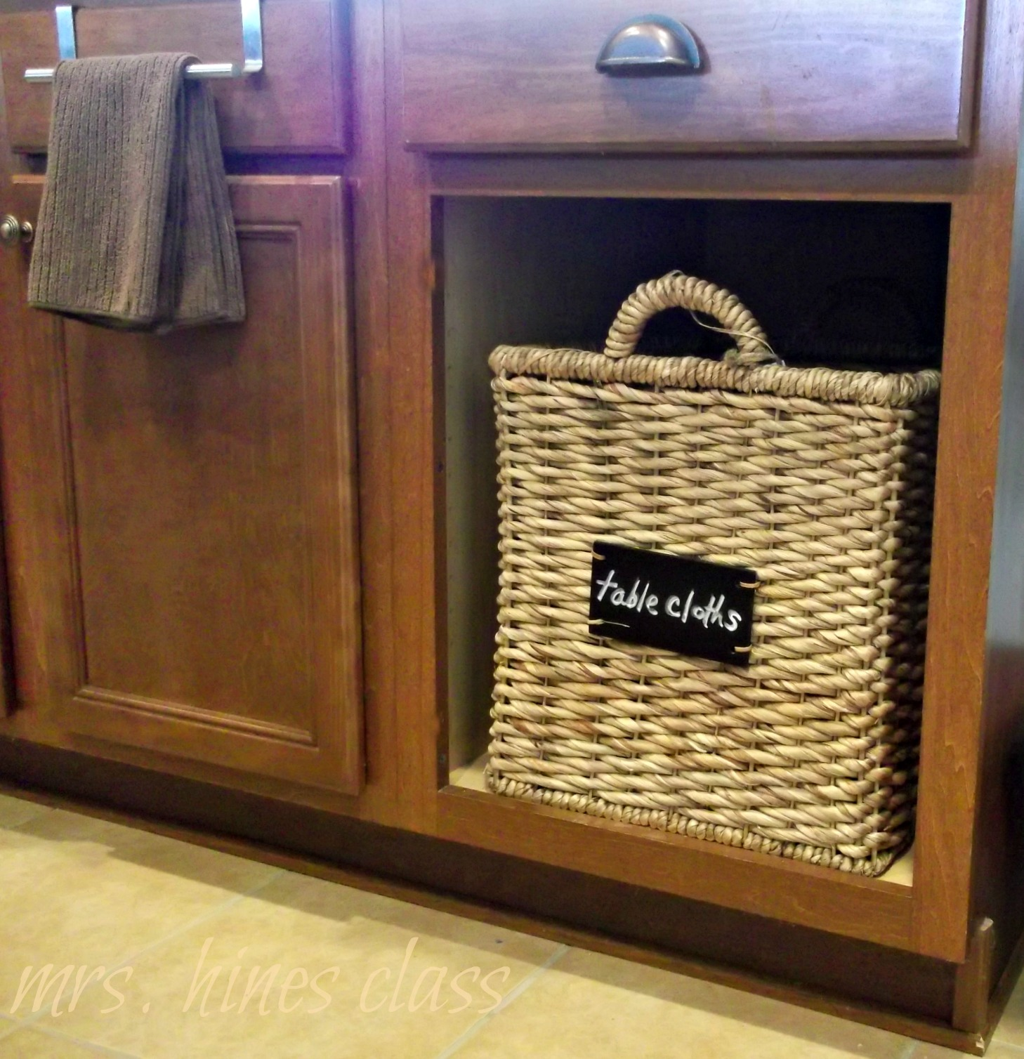 Find 8 Ways to Organize with Baskets at Sharon E. Hines
